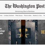 The @washingtonpost homepage right now. #JamalKhashoggi