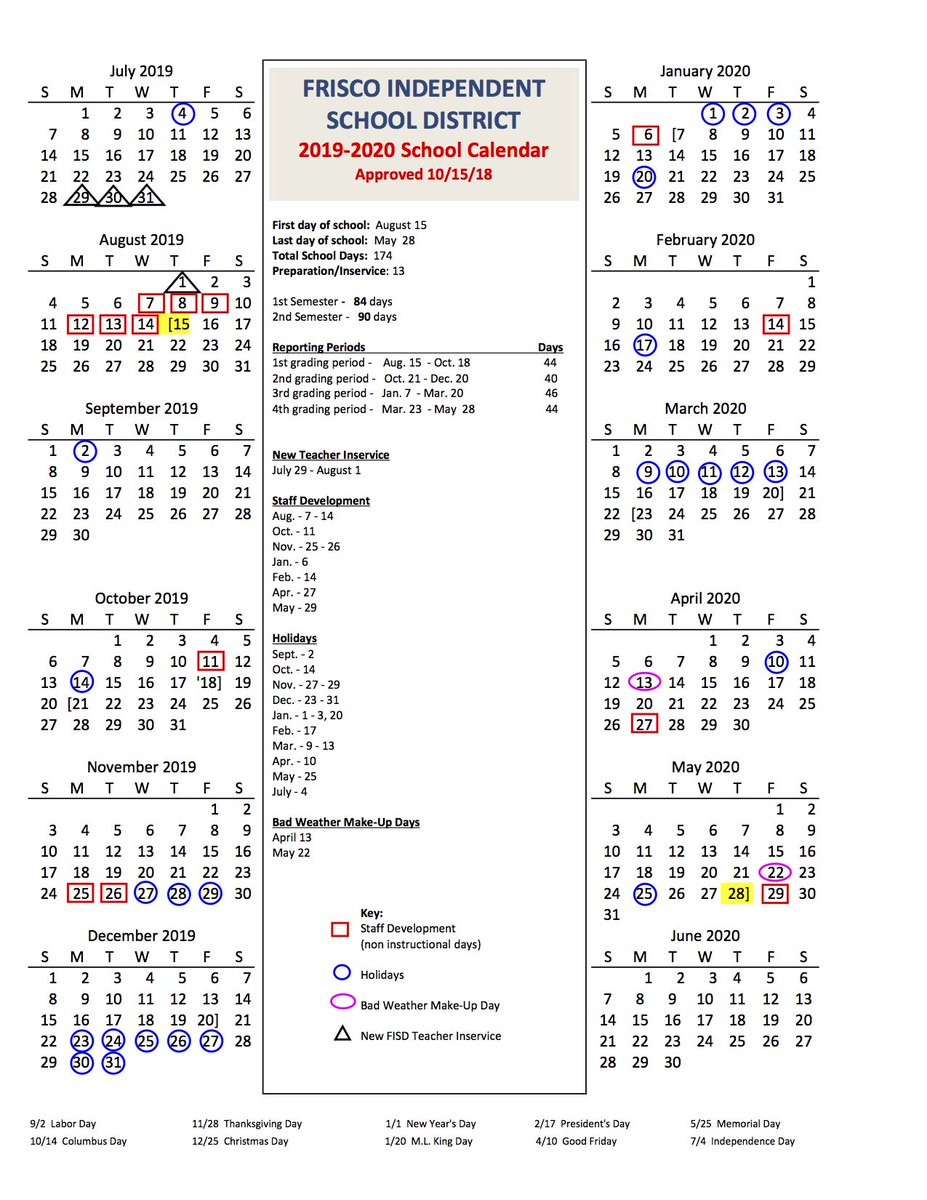 Frisco Isd Calendar.Frisco Isd On Twitter Icymi The Frisco Isd Board Of Trustees