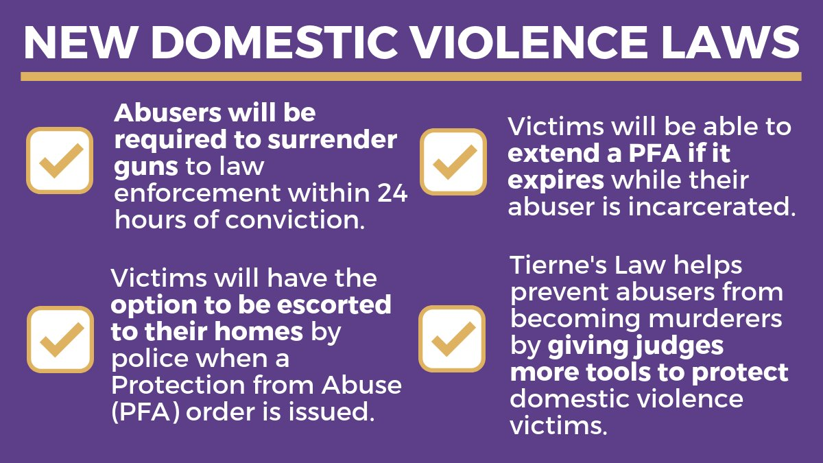 This year, PA took big steps forward with new laws to protect victims of domestic violence.