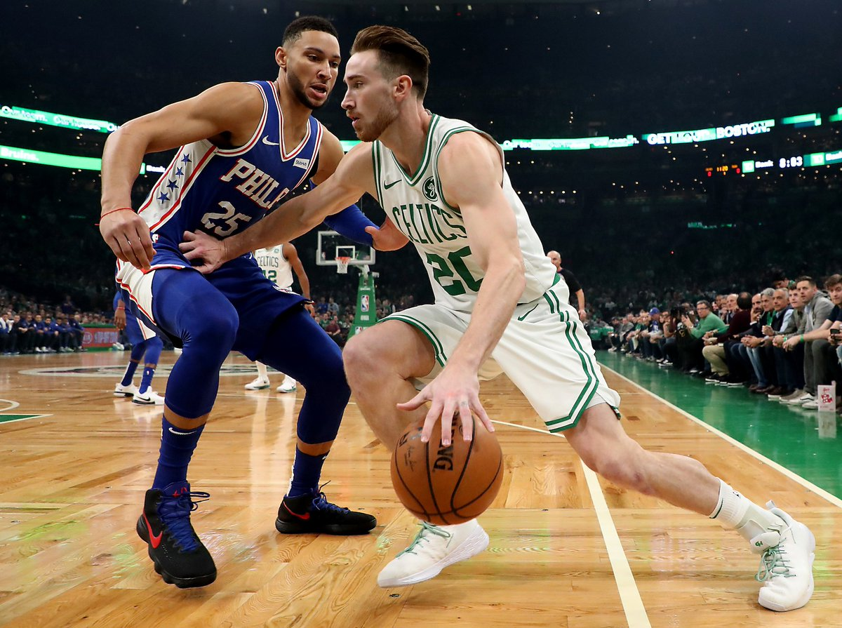 .@Record_Tara: On a night the Celtics opened the season, just being out there was more than enough for Gordon Hayward.  'The crowd was great. They were tremendous . . . I had to wait a year for it, but they were amazing.' https://t.co/XLF9feiwwY