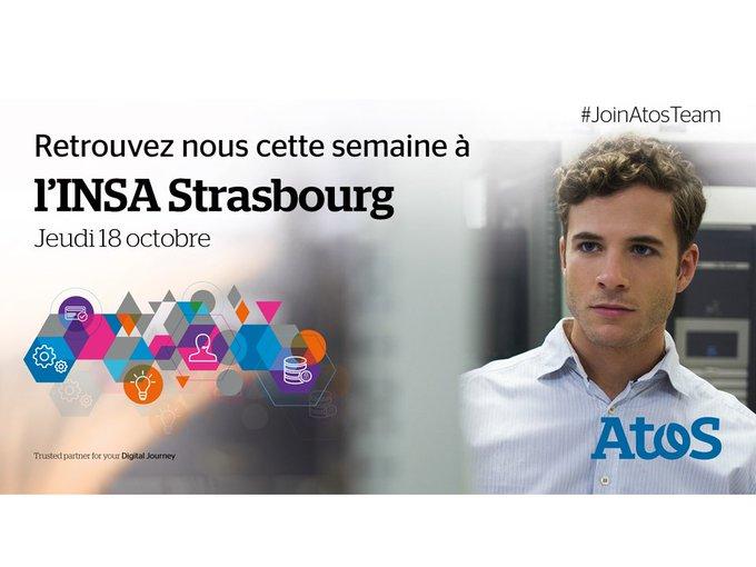 Demain, nous serons au #Forum Alsace Tech & Université : discutons #métiers à l'@Insa_Str...