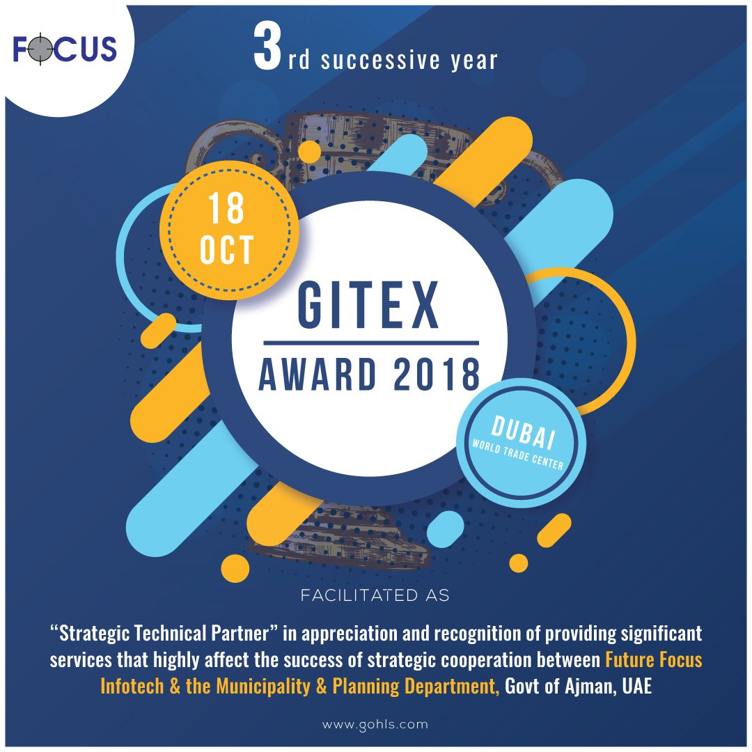 test Twitter Media - When Winning Becomes a Habit. For the 3rd successive year!! Future Focus Infotech #Award #GiTex_2018 #GITEXtechweek https://t.co/kN52QUxcio