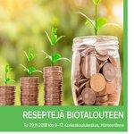 Image for the Tweet beginning: Reseptejä biotalouteen -tapahtuma Hämeenlinnan korkeakoulukeskuksessa
