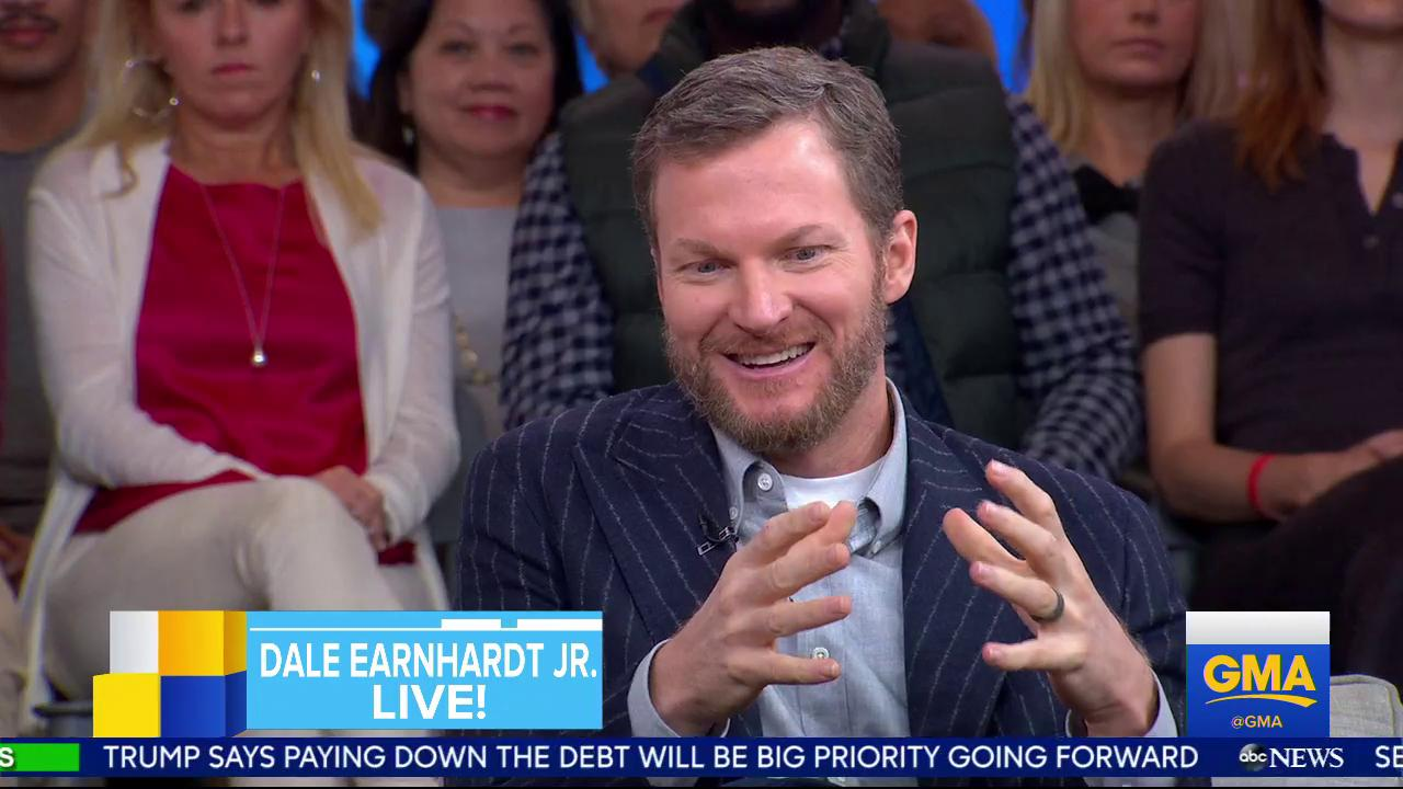 .@DaleJr on leaving racing: 'I was able to close the book on my career my own way.' https://t.co/W1vUNMab63 https://t.co/VI8el7gfkT