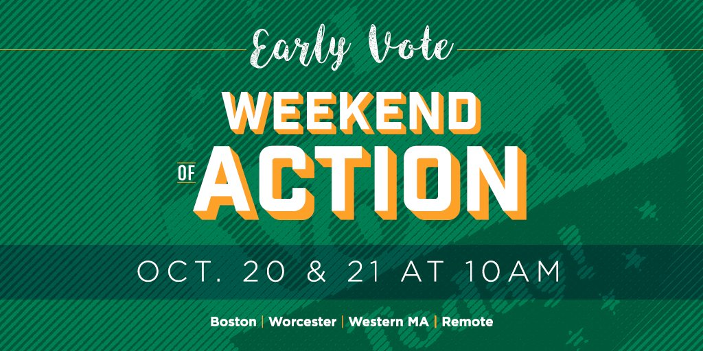 Early voting starts on Monday! So join us this weekend across the state as we knock on doors and talk directly with voters to make sure they're voting #YesOn3 to uphold #trans protections. Sign up for a Early Vote Weekend of Action shift here: https://t.co/G95GG0hqZD #MAPoli