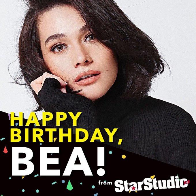 Happy birthday to beautiful First Love star, Bea Alonzo!
