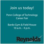 Image for the Tweet beginning: Good morning @PennCollege! Reynolds will