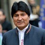 Evo Morales Twitter Photo