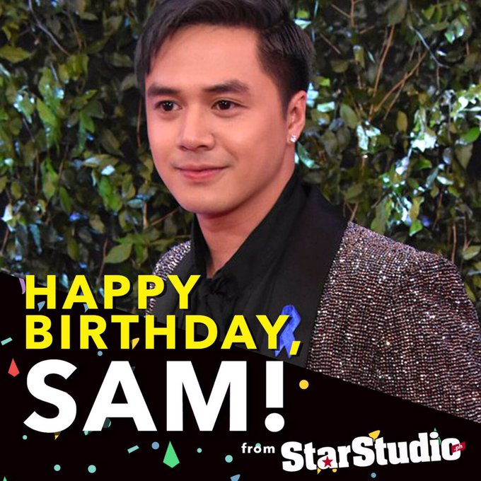 Happy birthday to the multi-talented Sam Concepcion! :