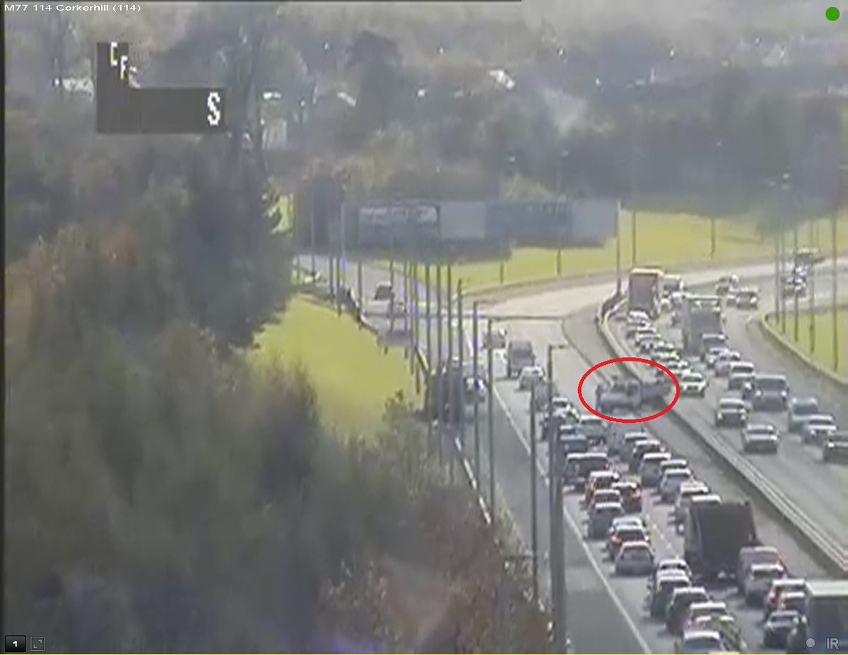test Twitter Media - ❗️NEW❗️14:30⌚️  #M77 southbound J1 - J2, RTC in lane 2 of 2 at the central res. Traffic is queuing heavily on approach. 🚓 & TRISS are en route.   #TakeCare #glasgow https://t.co/23nlROMcbw