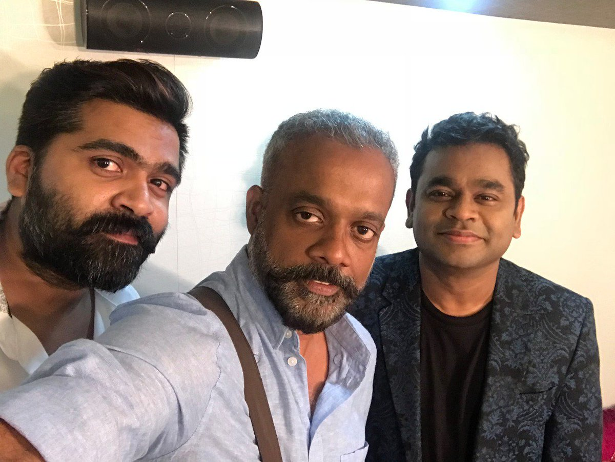 A R Rahman, STR Simbu and Gautham Menon