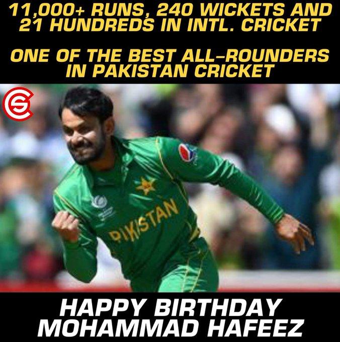 Happy Birthday, Mohammad Hafeez!!