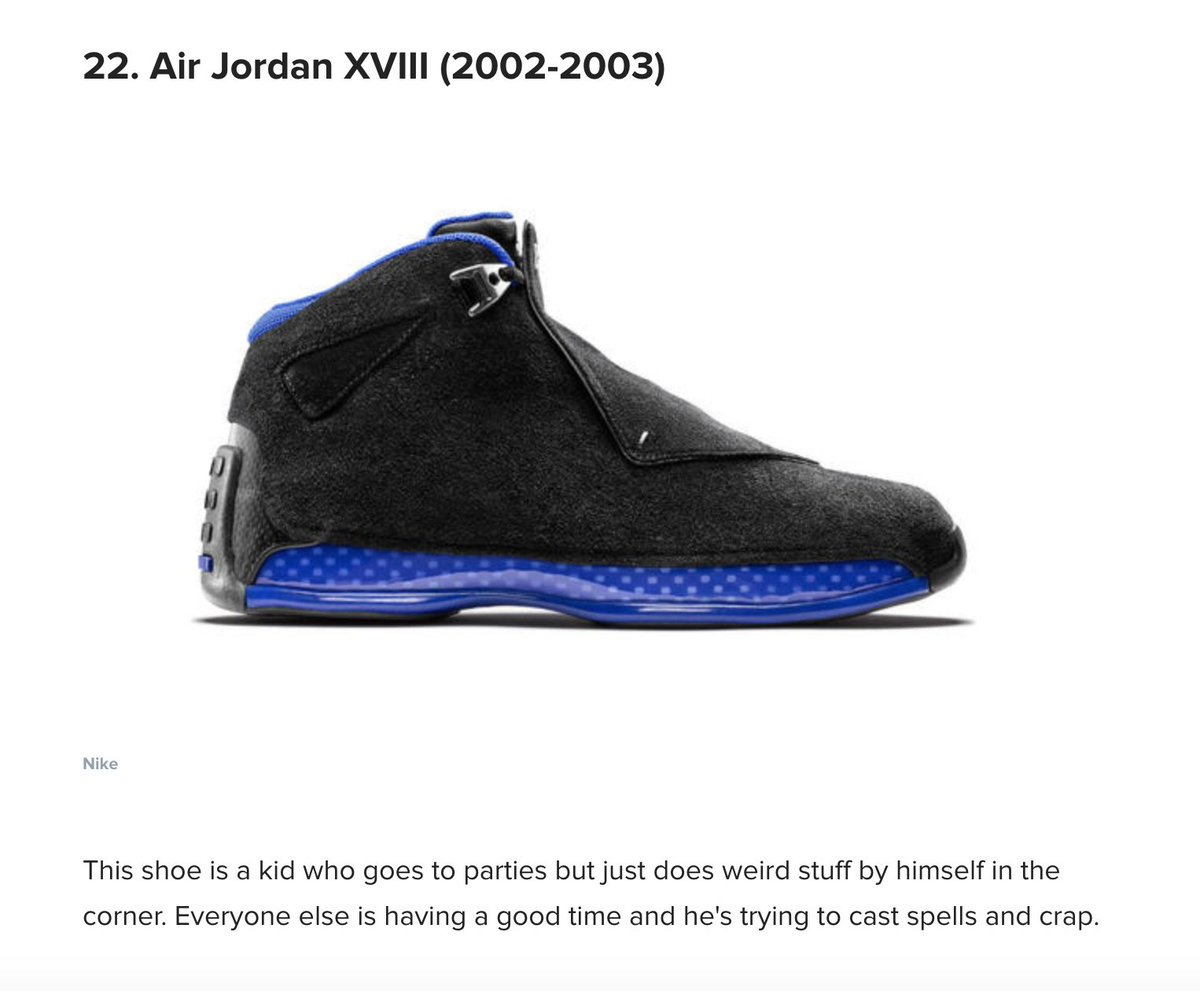 448a29aafbe920 ... all about Air Jordans. https   www.cbssports.com nba news ranking-air- jordans-a-guy-who-knows-nothing-about-sneakers-ranks-all-33-from-worst-to- first  ...