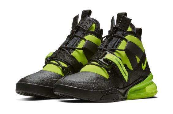 Official Look At The Nike Air Force 270 Utility Volt - https://t.co/653H8kDXE4 https://t.co/Mzk9rMdbOz