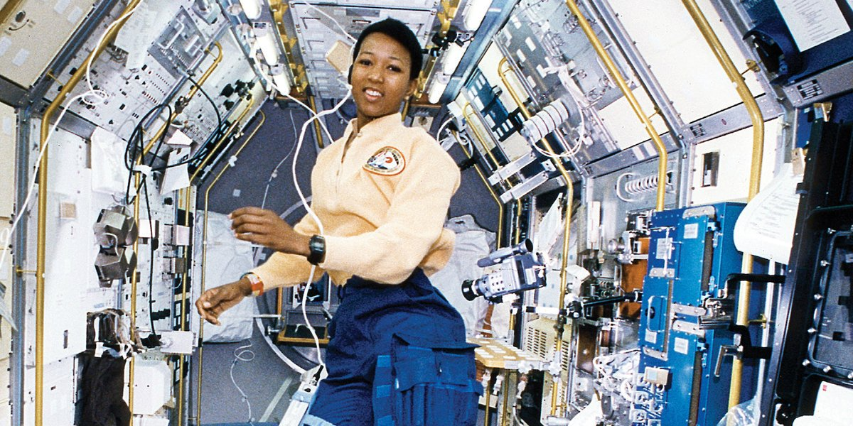 Happy 62nd birthday to @maejemison, the first woman of color to travel in space. eb.com/biography/Mae-…