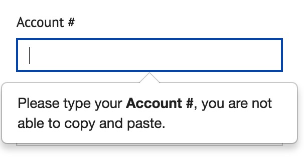 One of my favorite stupid UX patterns: the inability to copy and paste awkward/complicated numbers into a field. https://t.co/rZx64pFgLy