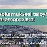 Image for the Tweet beginning: Onko energiatehokkuuden parantaminen #taloyhtiö'ssä helppoa