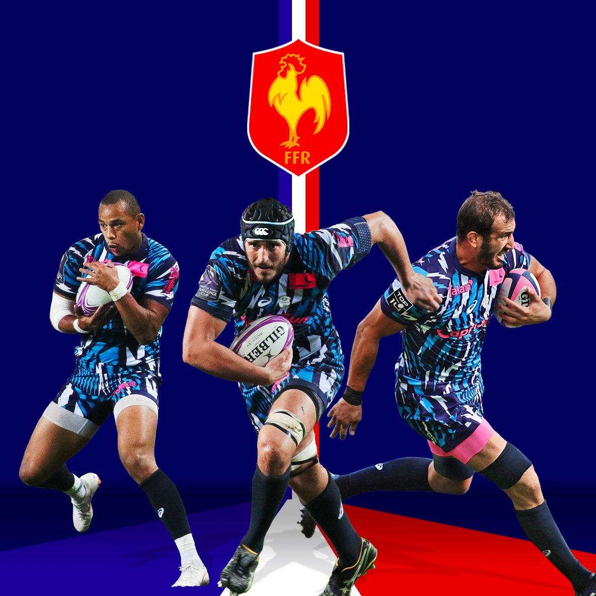 Les Parisiens @FickouG, Paul Gabrillagues et Yoann Maestri dans le groupe France pour les 3 matchs de la tournée de novembre. Bravo messieurs !#Parisiens #NeFaisonsXV #SFParis  - FestivalFocus