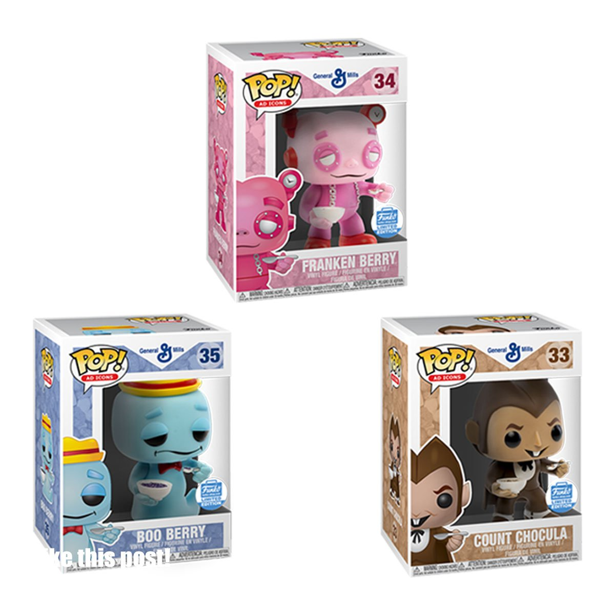 RT & follow @OriginalFunko for a chance to win a Funko Shop Exclusive Pop! Ad Icons: Cereal Monsters 3-Pack Bundle! https://t.co/B5yNtYxa9G
