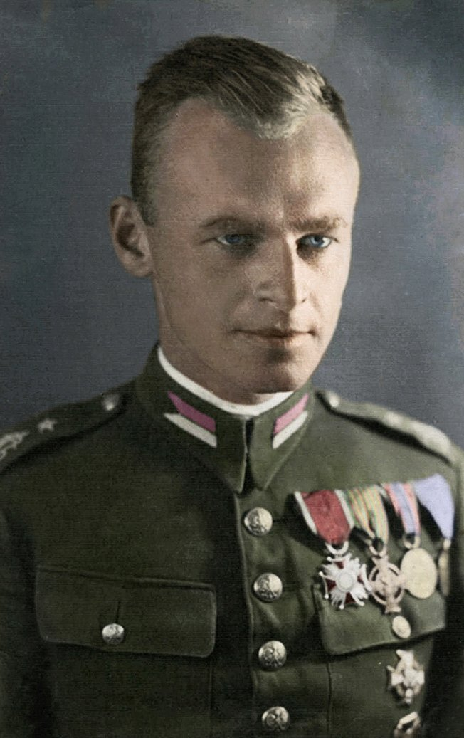 Captain Pilecki deliberately got himself captured during a round-up by German occupiers of Warsaw a month ago, planning to report on Nazi concentration camps from the inside.