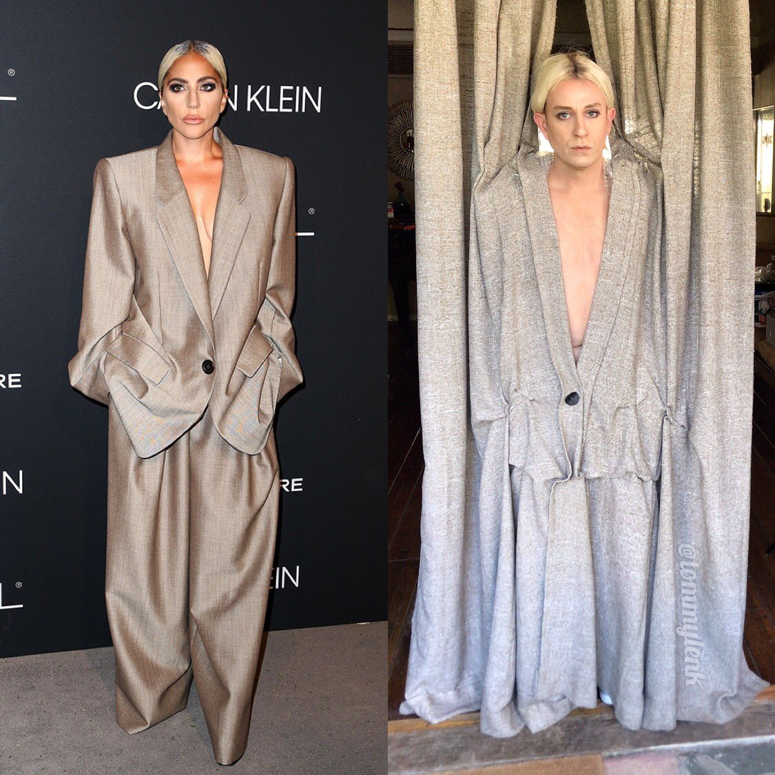 &quot;I saw it in the window and just couldn&#39;t resist it.&quot; - Carol Burnett @ladygaga @marcjacobs #LenkLewkForLess<br>http://pic.twitter.com/BALEZYtppJ