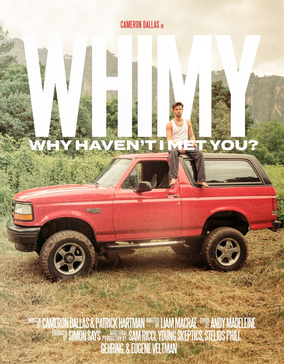 WHIMY the film. Who wants to see the premiere? Let me know where I should meet you guys!