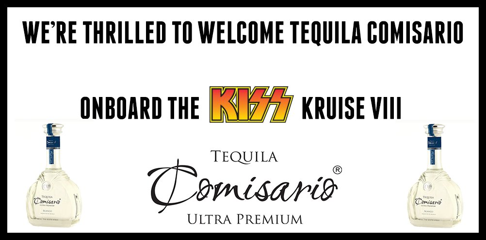 Image result for the kiss kruise 2018 Comisario Tequila