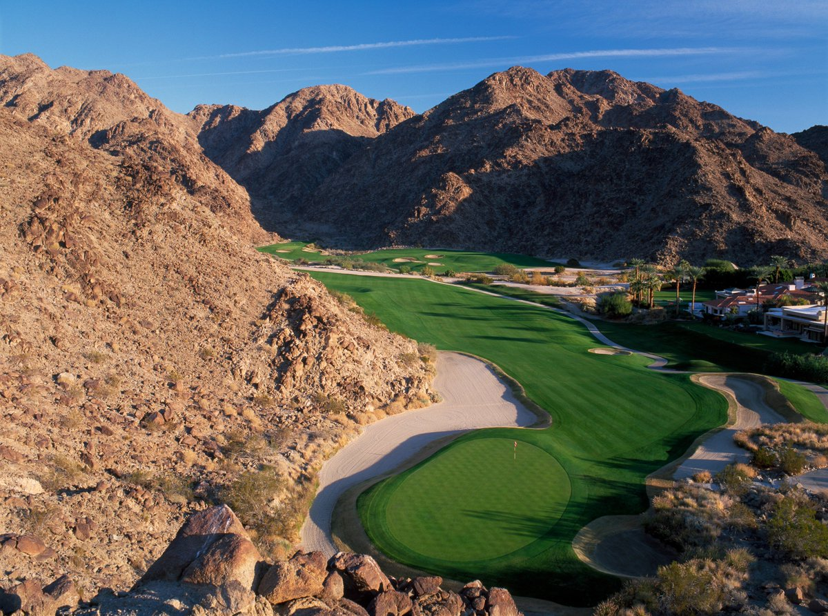 hump day hole in one - la quinta resort mountain course #golf