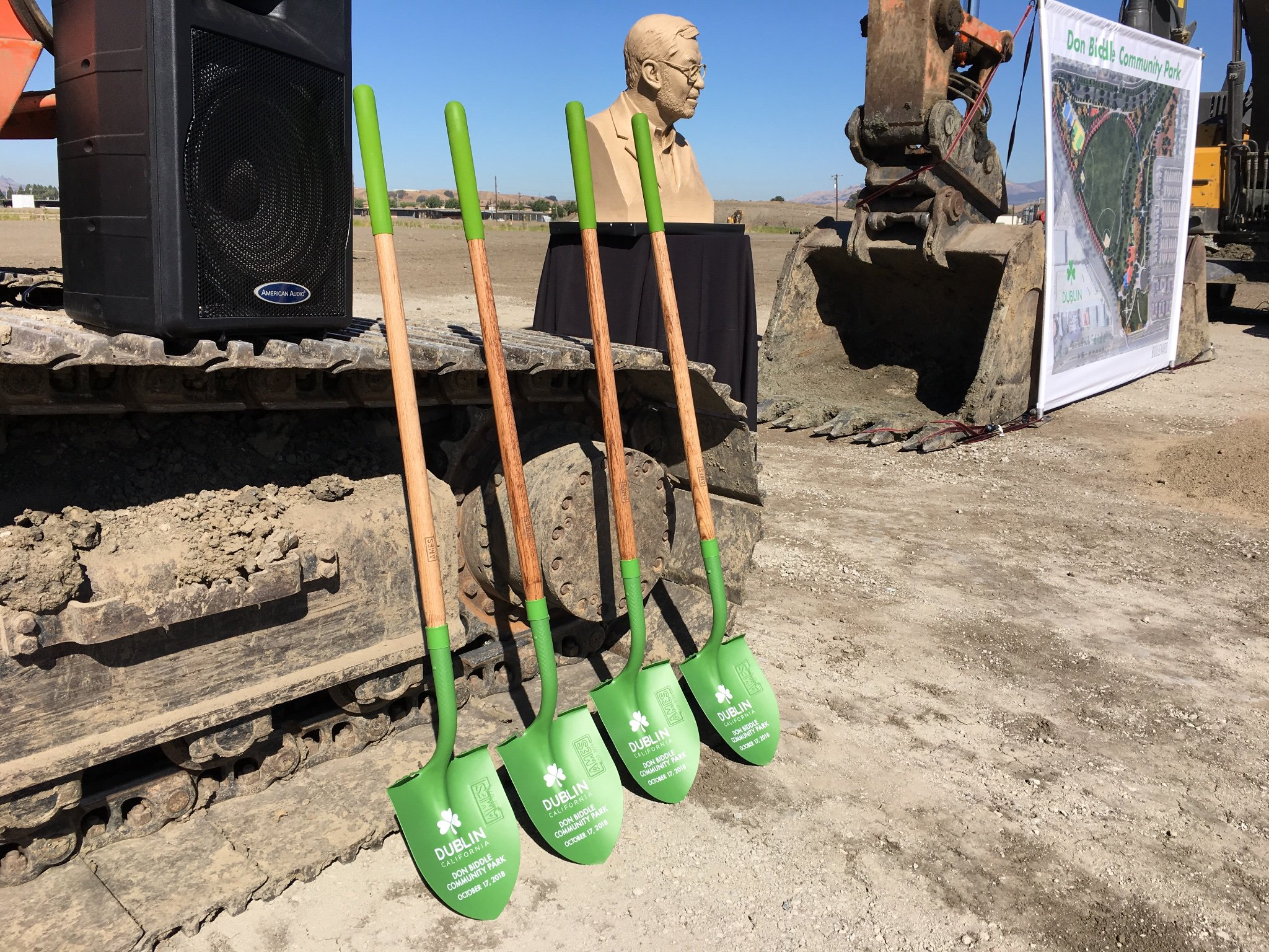 City Of Dublin On Twitter The City Of Dublin And The Boulevard Project Held A Groundbreaking Today For The Future Don Biddle Community Park Situated In The Heart Of Dublin The Park
