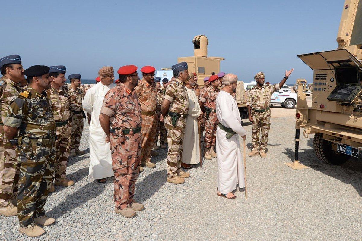 سلطنة عمان تؤكد أنها تلقت نظام الدفاع الجوي النرويجي NASAMS DpuBTOSU0AEM81H