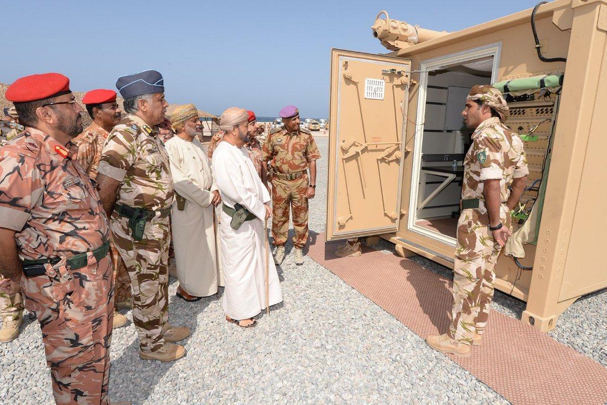 سلطنة عمان تؤكد أنها تلقت نظام الدفاع الجوي النرويجي NASAMS DpuBuJCU0AA0PQ1