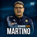 Tata Martino Twitter Photo