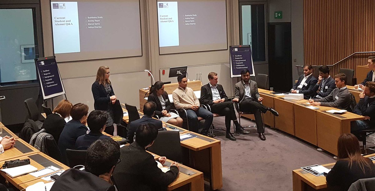 We are thrilled to have hosted the Masters in Financial Economics Open Day @OxfordSBS today. Prospective students have been visiting the school, meeting the team and taking part in a taster lecture. Find out more about our top-ranked Masters in Finance: https://t.co/D8UZwBCsWk