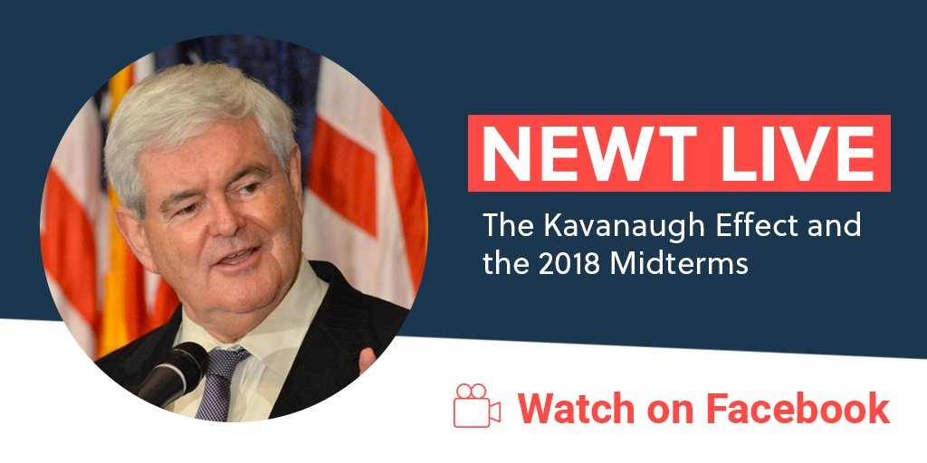 Just did a @facebook live on the #Kavanaugh effect and the three impacts it'll have on #Midterms2018. Watch ➡️ https://t.co/OOBj4ueWet
