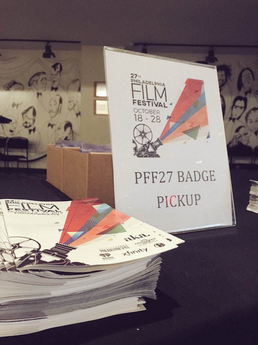 Make sure to come and pick up your badges at the #PhiladelphiaFilmCenter located at 1412 Chestnut St! #1DayTilPhillyFests https://t.co/Q3UD93v12d