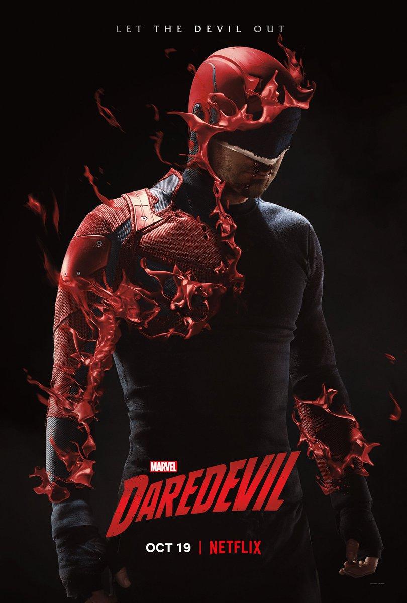 Nuevo póster promocional de la tercera temporada de Daredevil.