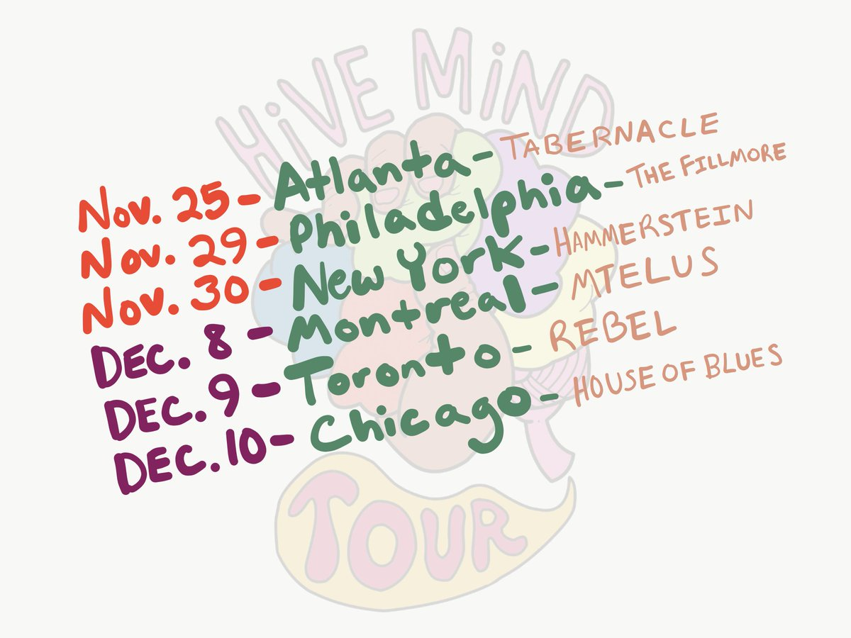 NEW DATES ADDED ! Atlanta Philadelphia New York Montreal Toronto Chicago tickets on sale : Friday 10 am