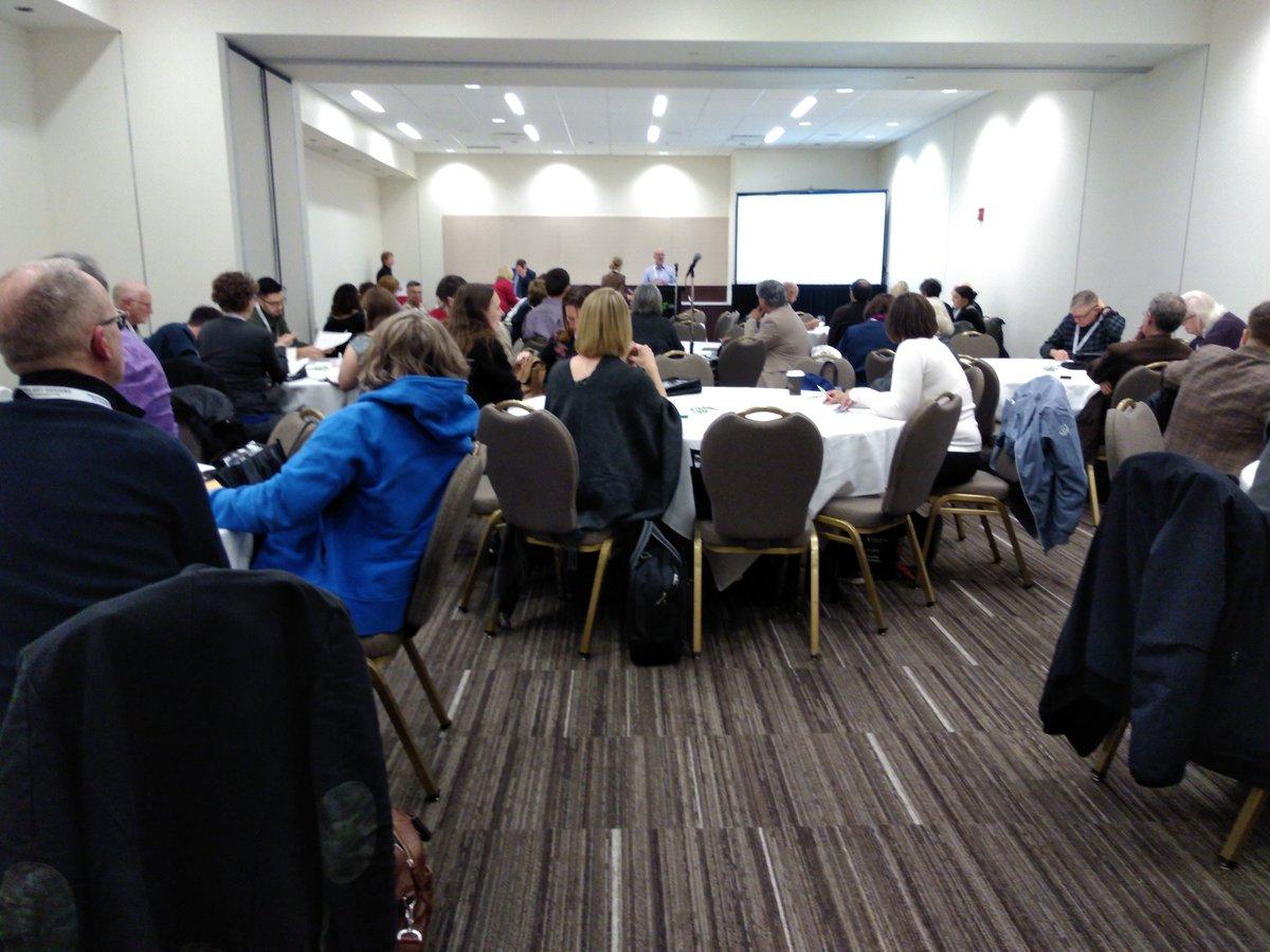 Full house at the @nationaltrustca Rural Heritage Symposium #NTConf #Fredericton #Newbrunswick<br>http://pic.twitter.com/Ze4Cb3kENN