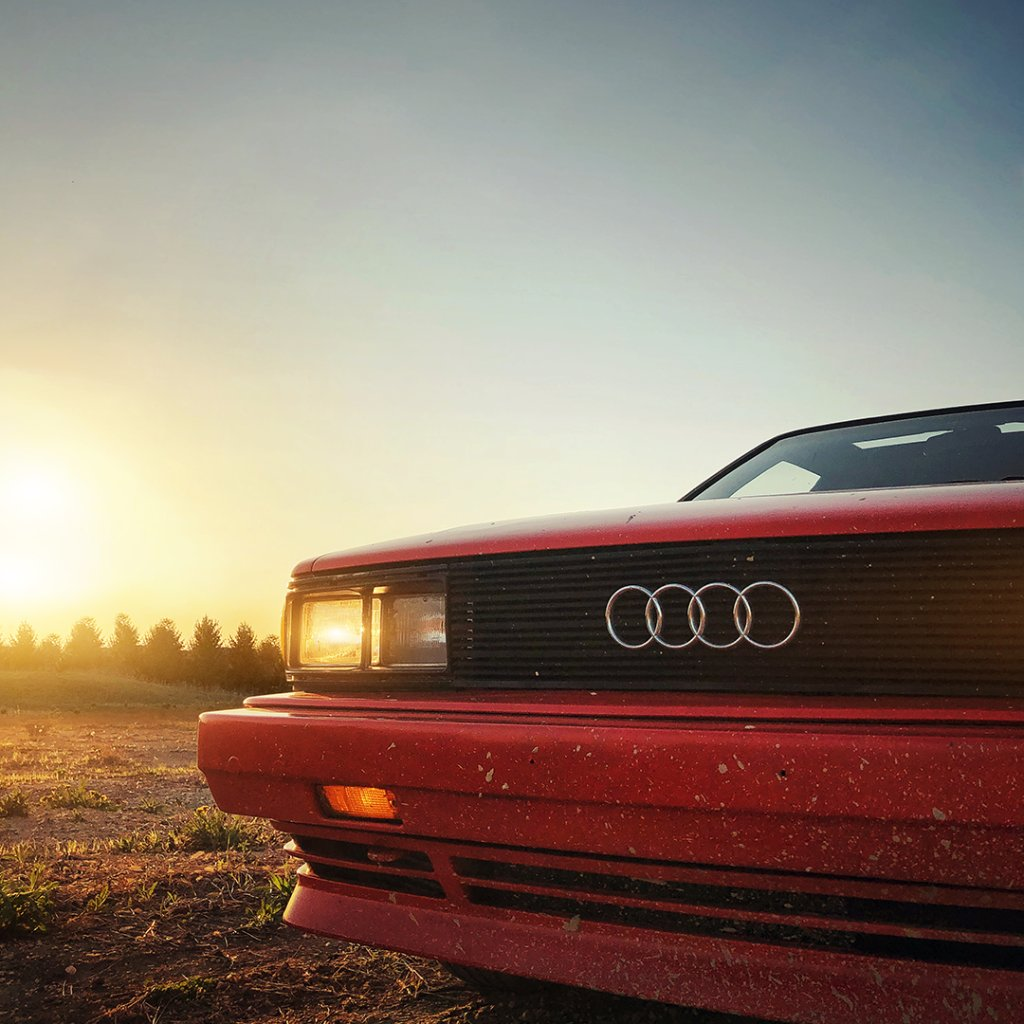 Throwback whatever-day-of-the-week-it-is. #UrQuattro