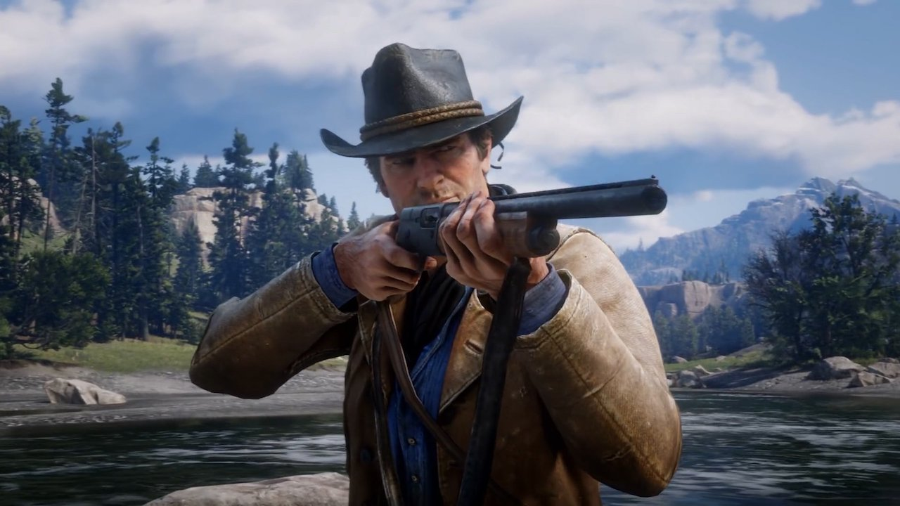 The physical copy of Red Dead Redemption 2 may ship on two discs.  https://t.co/G6wPxaKY97 https://t.co/ApaclRqqtz