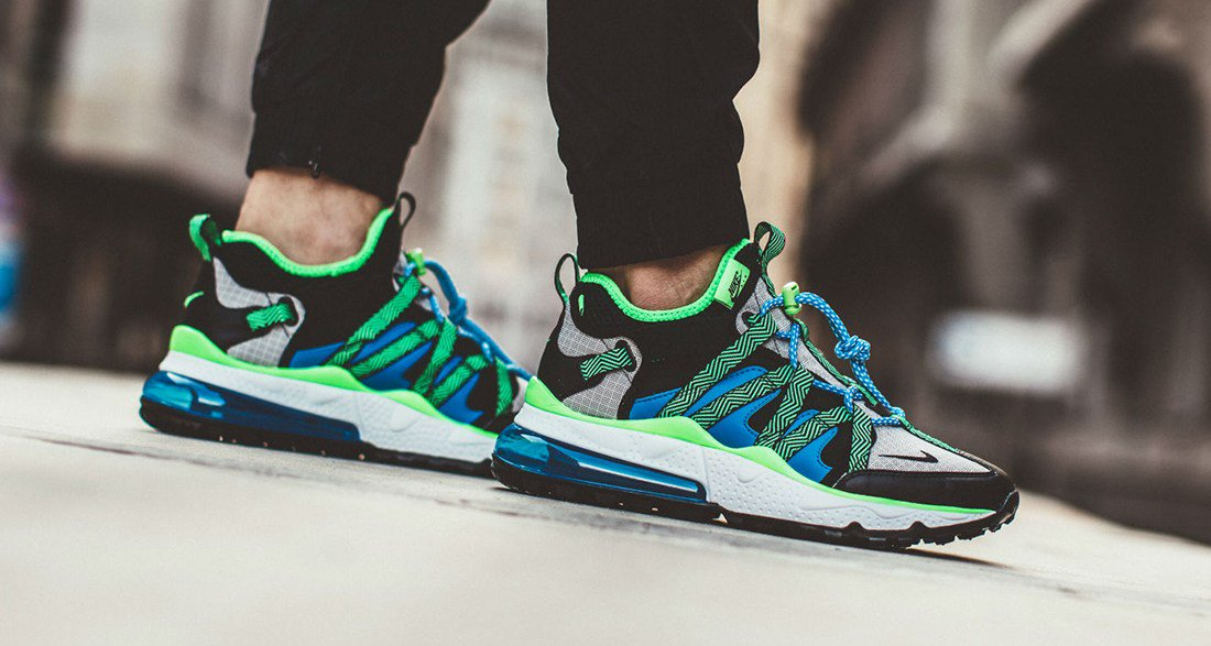 nike air max 270 bowfin on foot