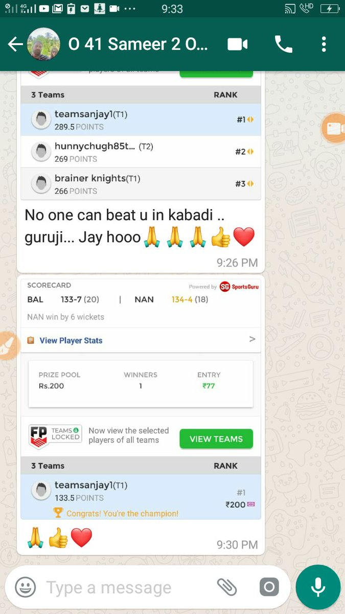 👑DREAM11 CHAMPIONS🏆1st🏏💪 on Twitter: