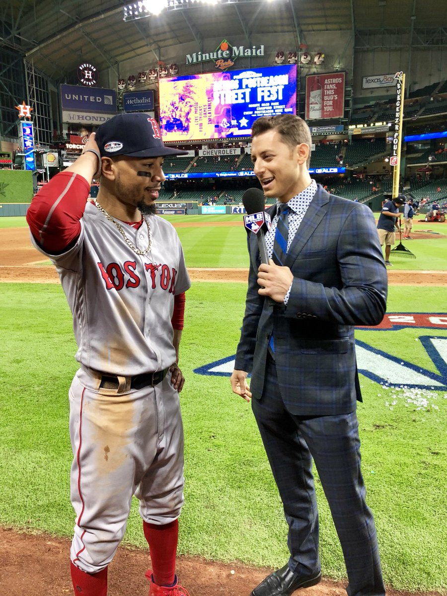 Ask me anything about the @RedSox or @astros and I'll answer it on the @twitter @MLB Postseason Pre-Show 🤔 I've been at every workout and locked in to every inning at this ALCS talking to the coaches and players from both sides