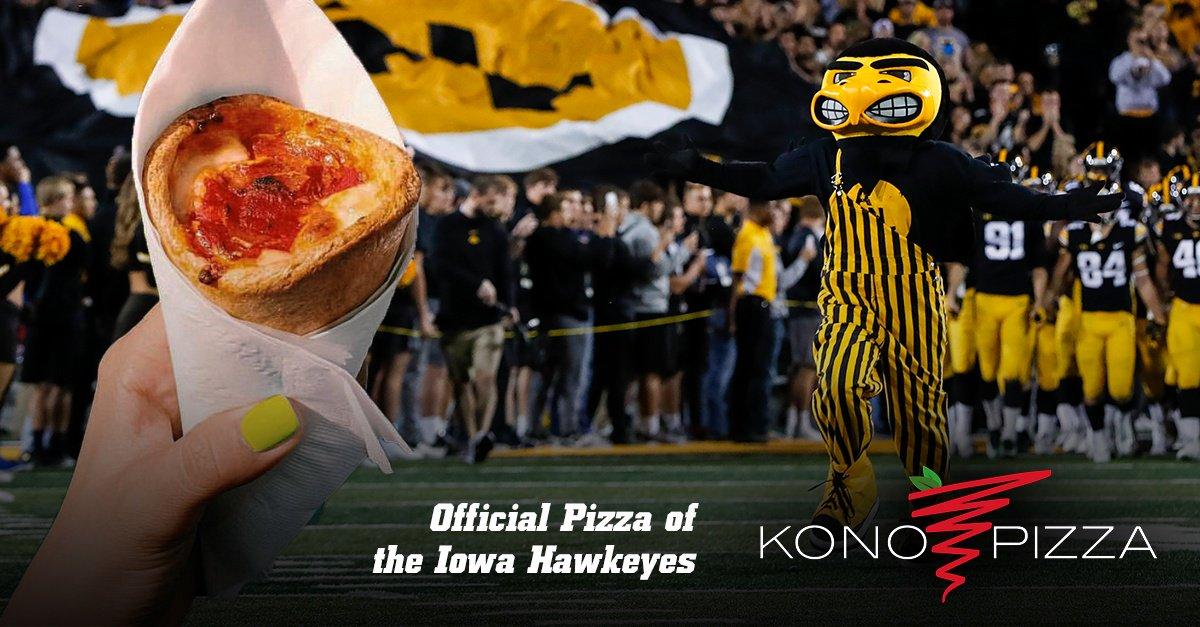 "The Iowa Hawkeyes on Twitter: ""Kono Pizza. Hawkeye ..."
