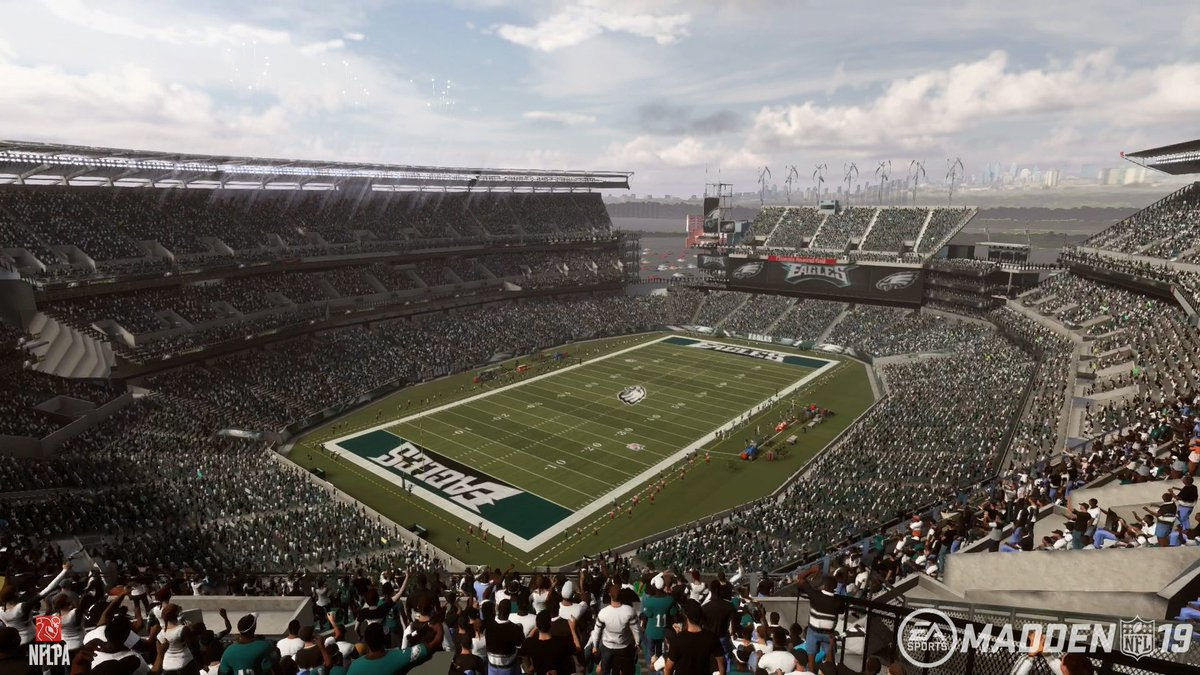 Who wants to sit HERE this weekend for #CARvsPHI?!  RT & Comment for a chance to win #Madden19