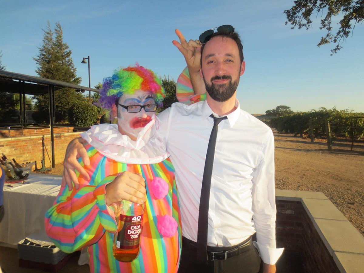 Drunk Clown at the Wedding