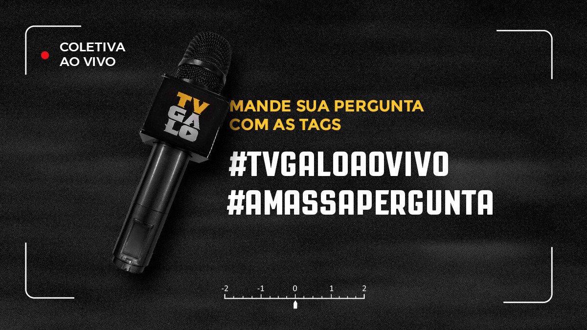 Hoje a palavra está com @juanicazares e Matheus Galdezani! Faça sua pergunta para os entrevistados do dia! Use a tag #aMassaPergunta e envie sua sugestão. O repórter da @tvgalo fará as perguntas escolhidas. Veja, ao vivo, a partir das 9h30: https://t.co/amOYlRr9hw  #Galo 🏴🏳