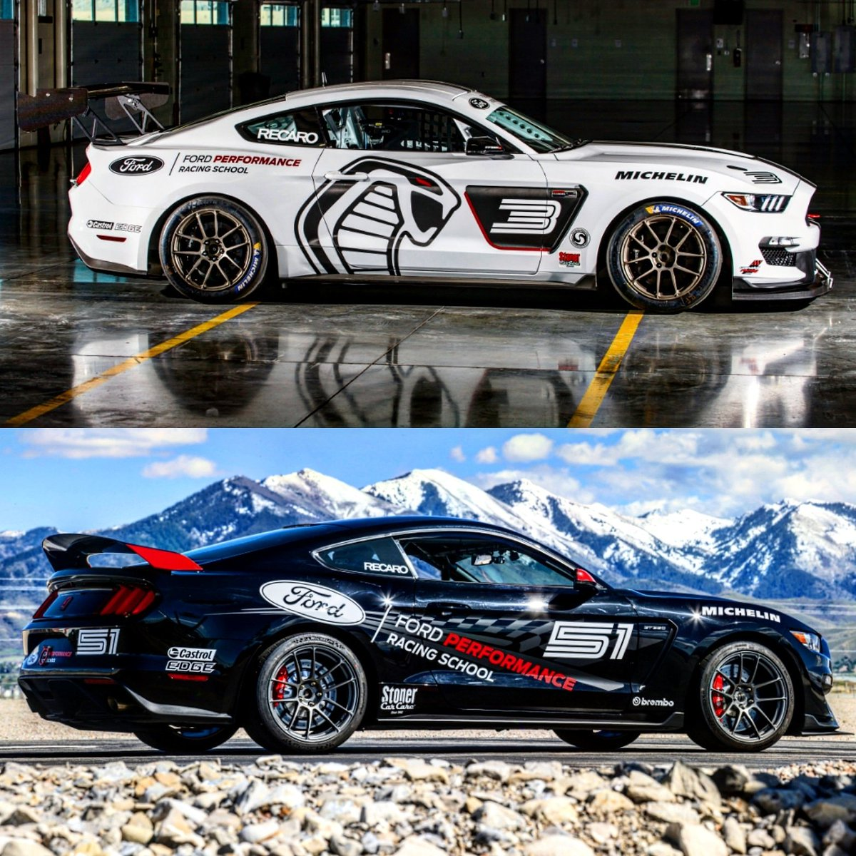 Ford Performance Racing School >> Ford Performance Racing School On Twitter A Side By Side