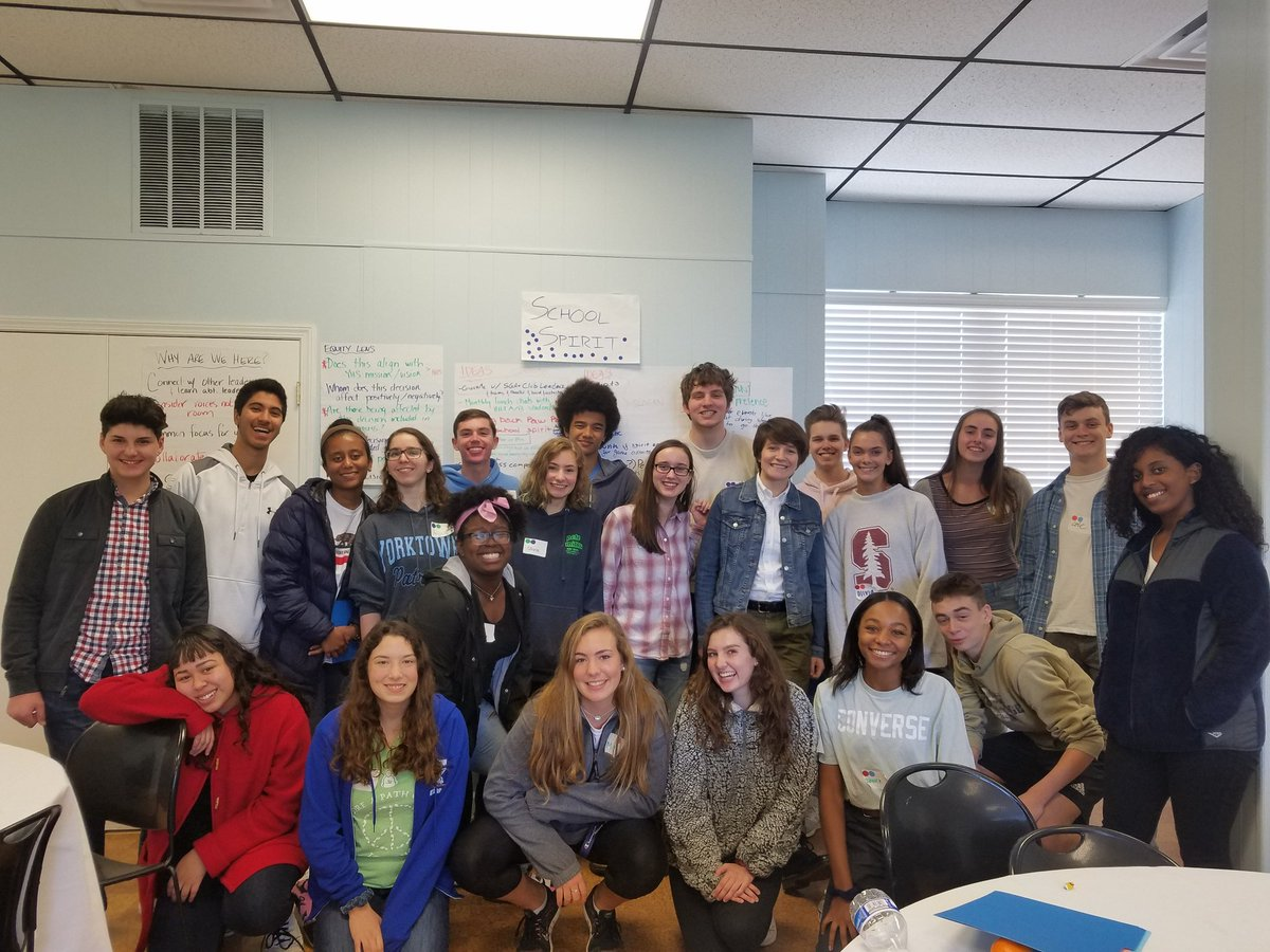 YHS student leaders spent the morning receiving training on various leadership aspects.<a target='_blank' href='http://twitter.com/YorktownHS'>@YorktownHS</a> <a target='_blank' href='http://twitter.com/Principal_YHS'>@Principal_YHS</a> <a target='_blank' href='http://twitter.com/APSVirginia'>@APSVirginia</a> <a target='_blank' href='http://twitter.com/yhssports'>@yhssports</a> <a target='_blank' href='https://t.co/X6lwqZPzfx'>https://t.co/X6lwqZPzfx</a>