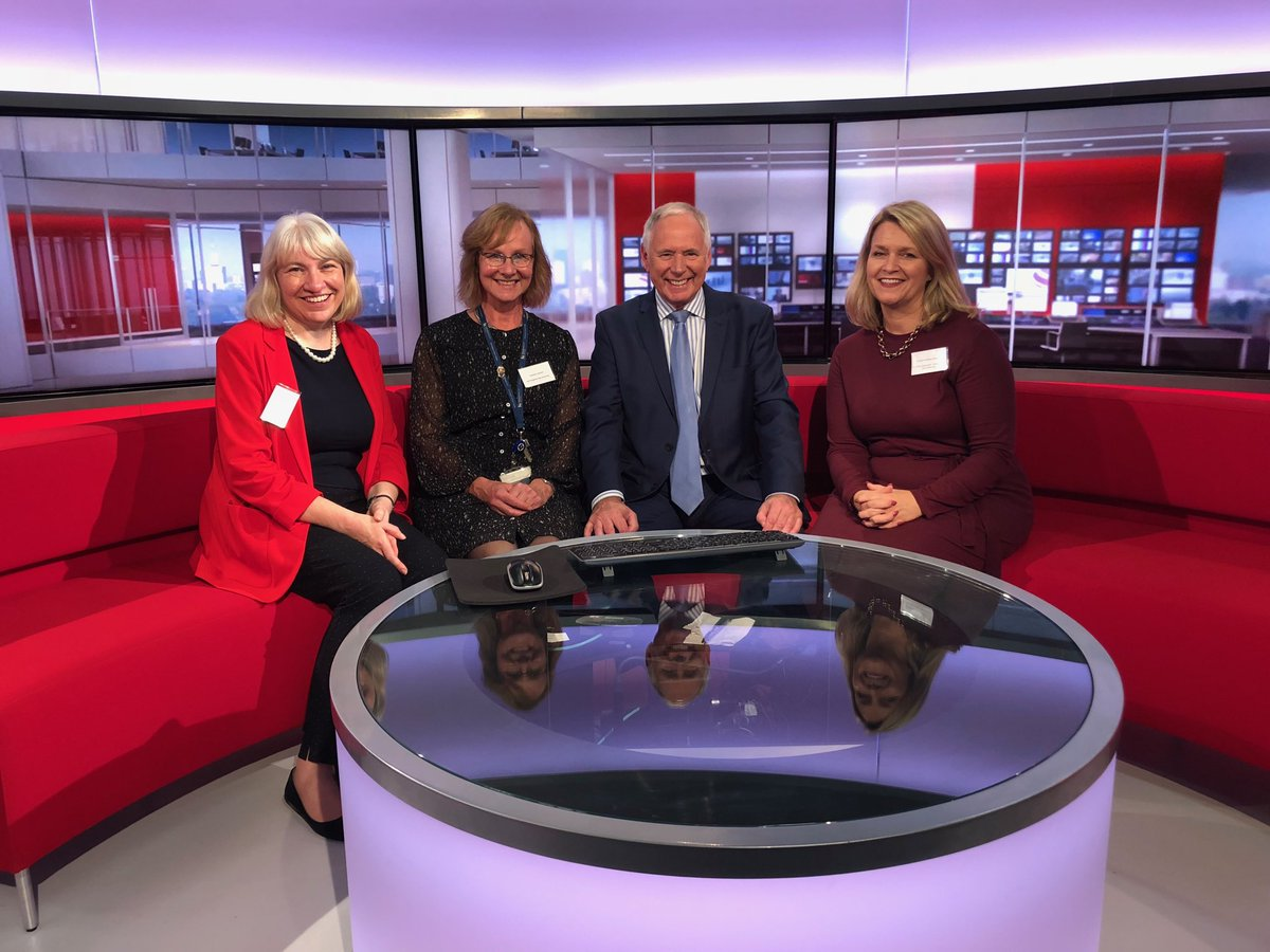 BCU take over at BBC Midlands Today! <br>http://pic.twitter.com/pRcr34LxRF